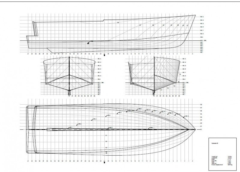 Lines Drawing Naval Architecture : Naval architecture